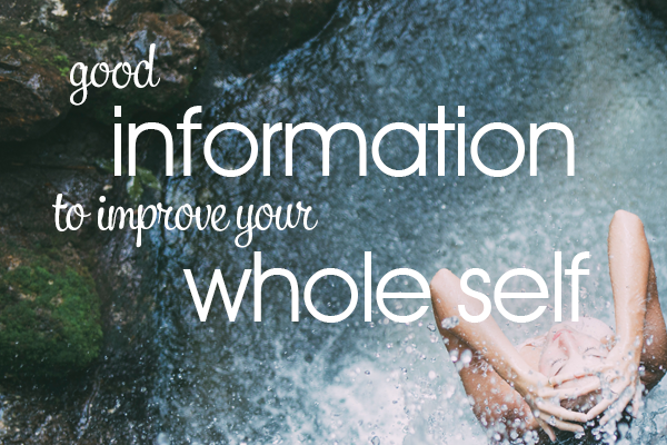 Good Information to improve your whole self